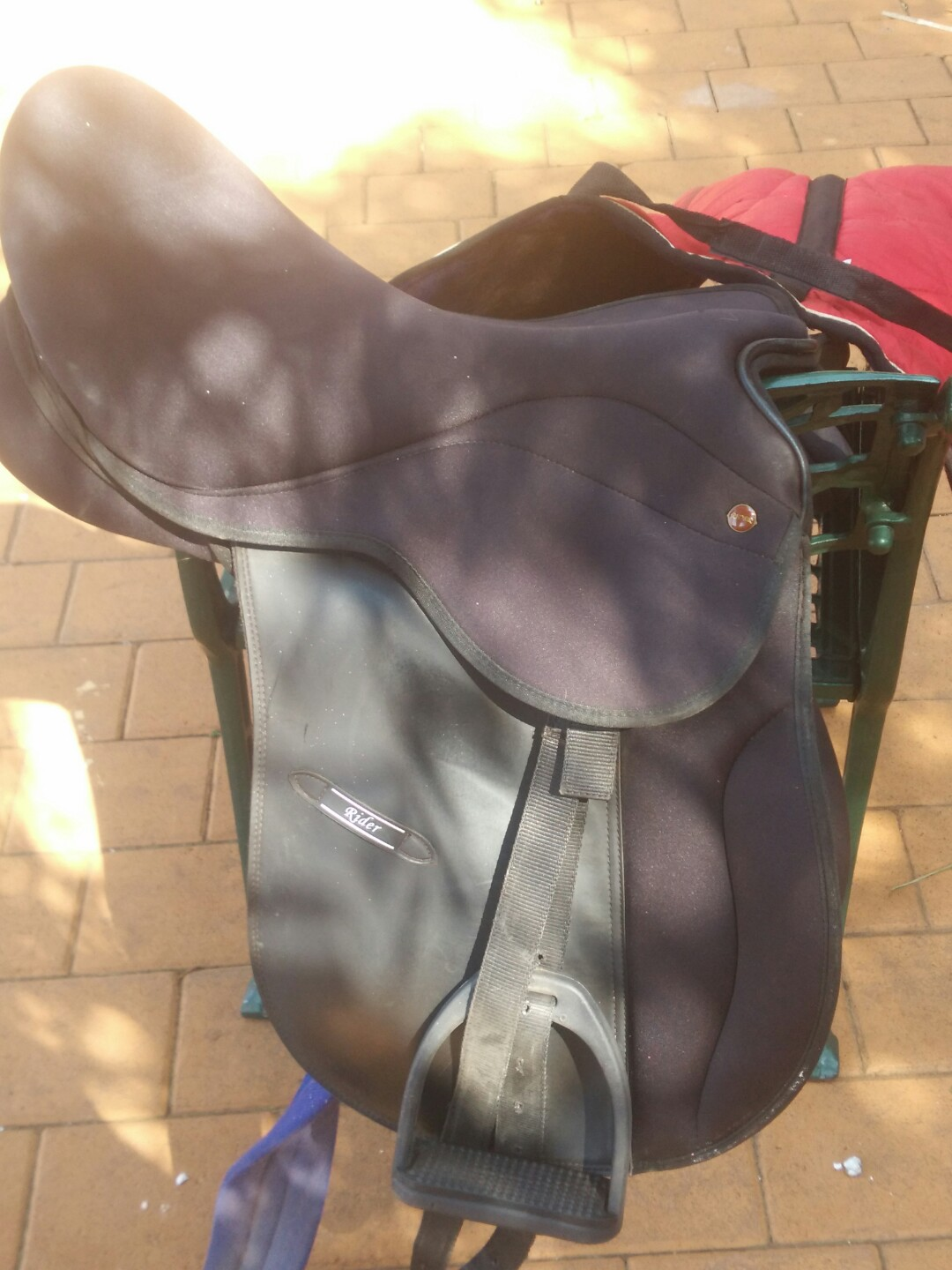 Horse Saddle Fully Equipped brand new