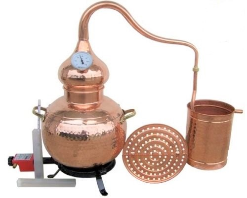 Distillery 3 liters Moonshine copper Still * Alambicco * Alambique * Alembic