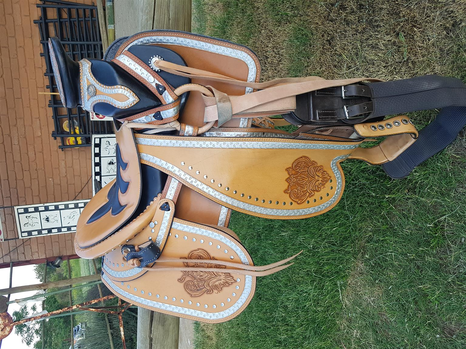 brand new Mexican Charrio saddle package.