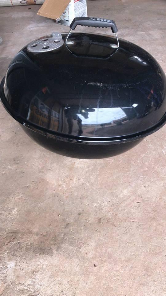 Black weber pot for sale