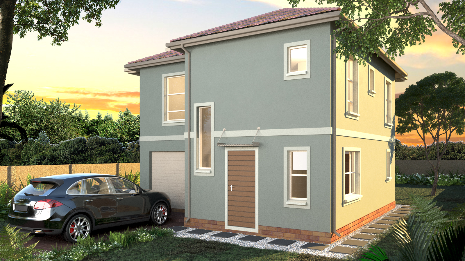 Brand new houses for sale in Lotus Gardens