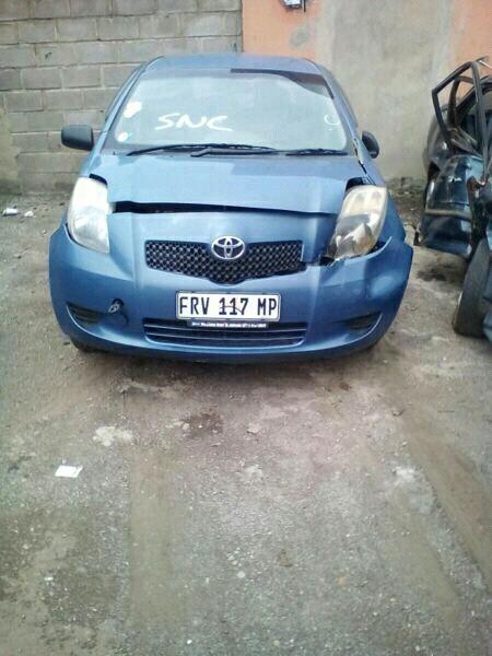 Toyota Yaris Spares