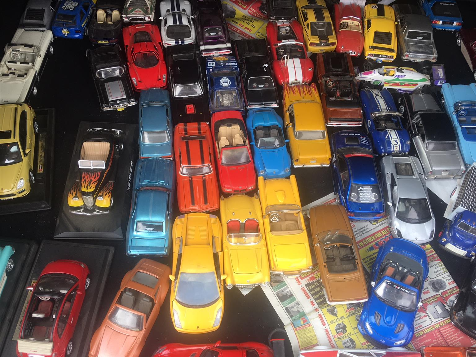 Model cars Various sizes from R50 each More than 200 available