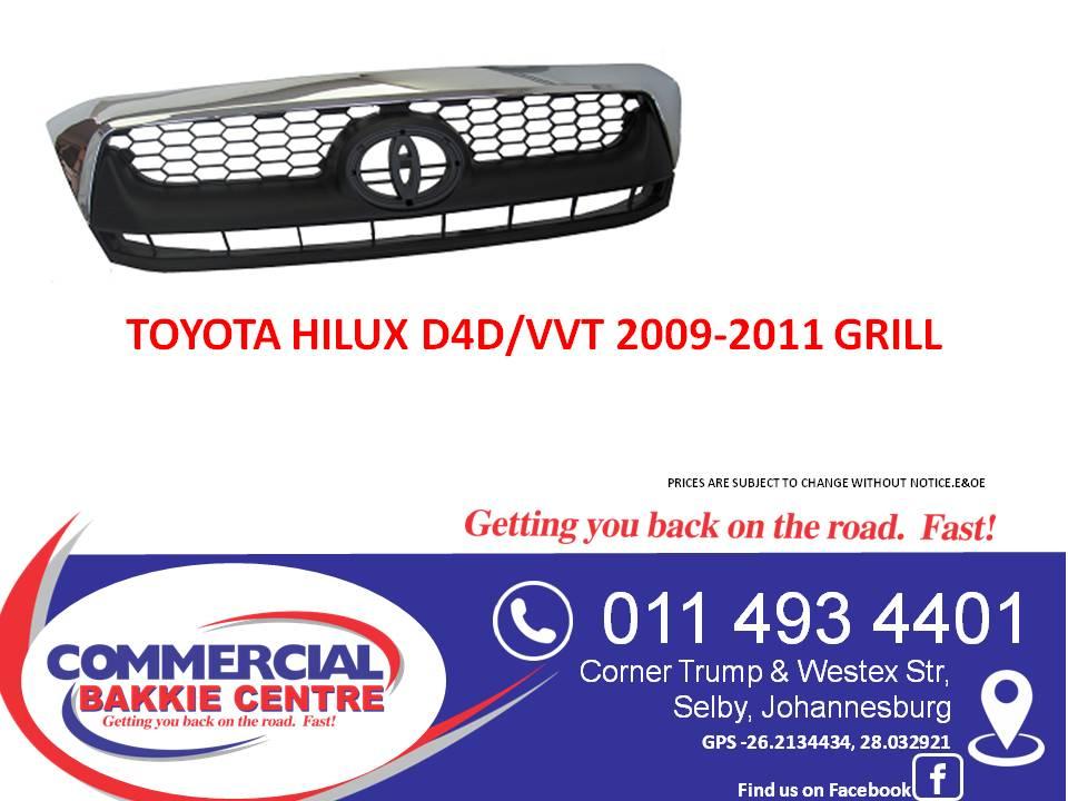 toyota hilux d4d/vvt 2011-2014 grill new