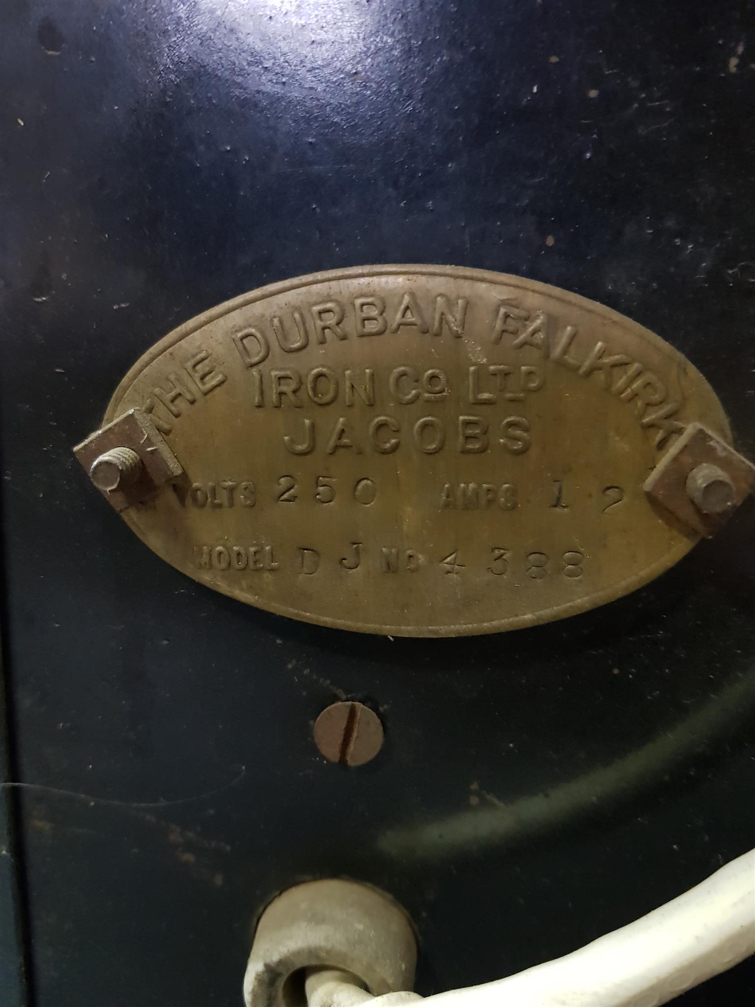 Antique Electric Defy Stove