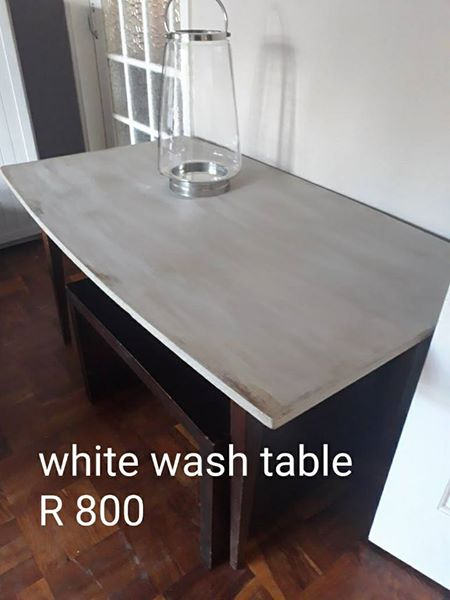 White wash table for sale