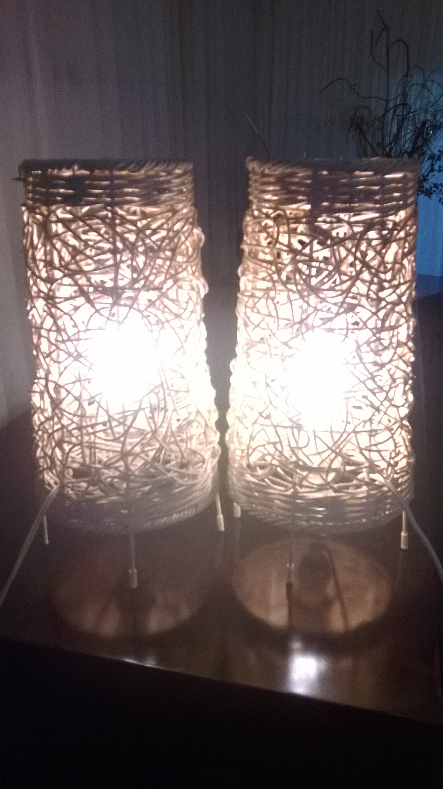 2 x Table Lamps