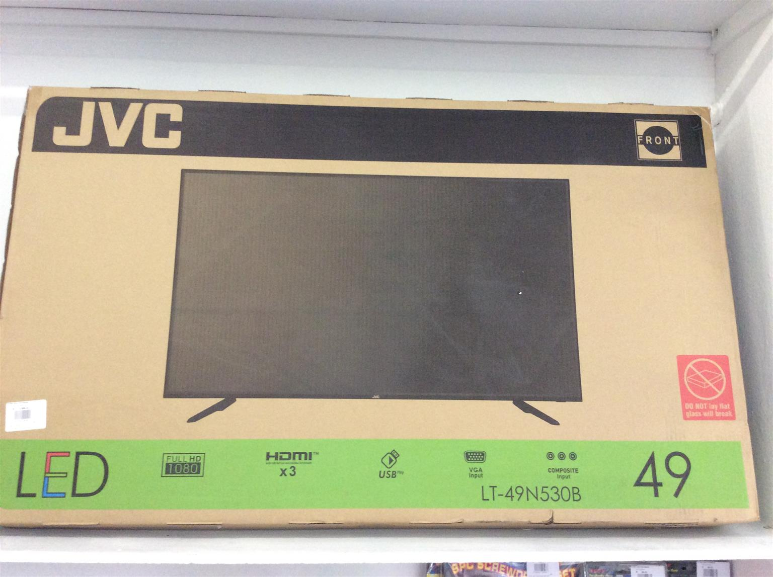 "JVC 49"" Full HD LED TV Television"