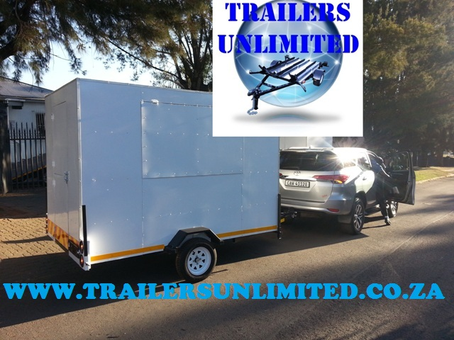 CATERING TRAILERS 2800 X 1800 X 2000