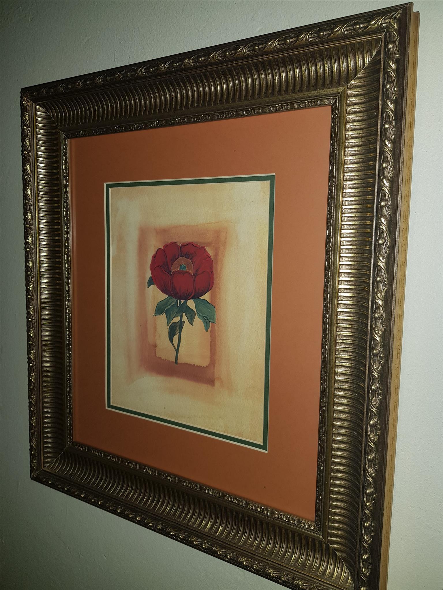 Framed prints - Set of 4