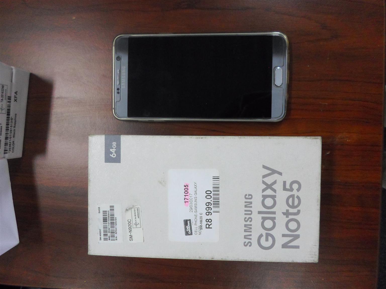64GB Samsung Galaxy Note 5