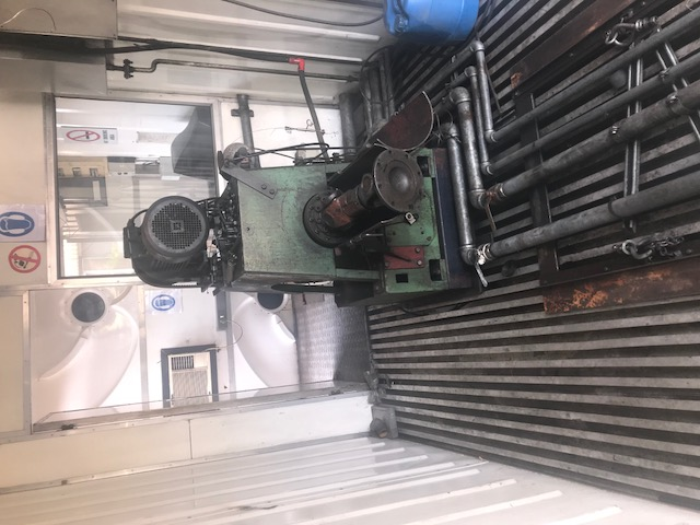 SCHENK ENGINE DYNO MOUNTED IN A CONTAINER COMPLETE WITH COOLING TOWER