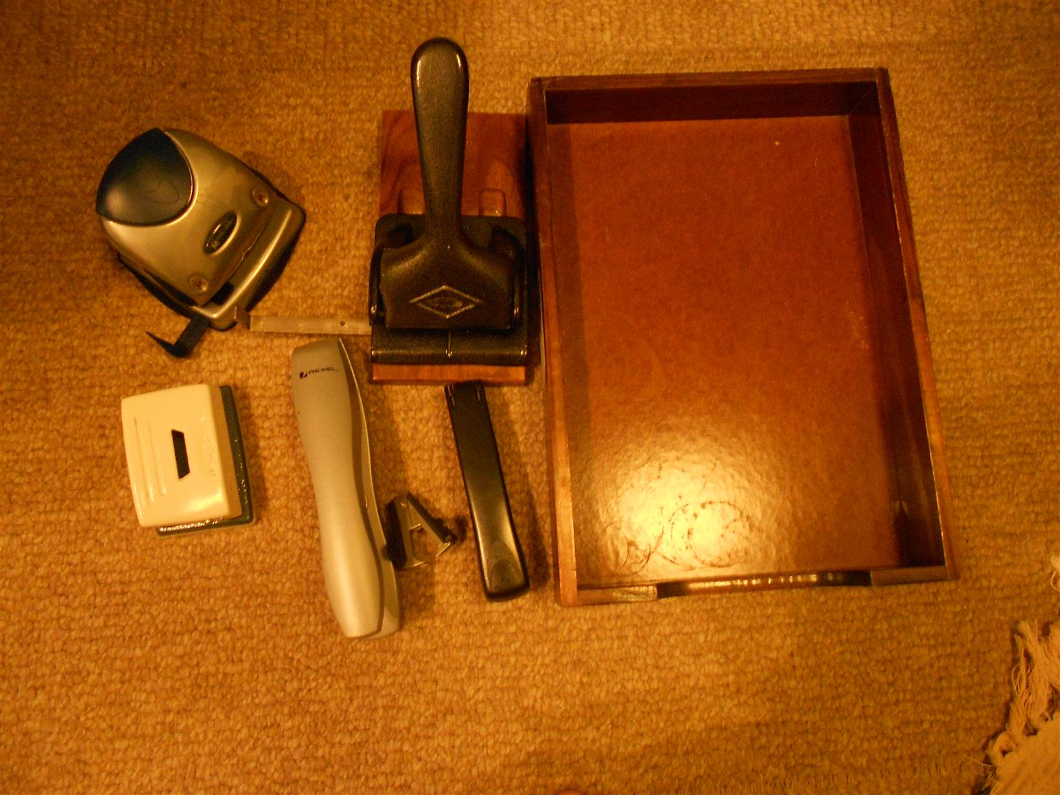 Variety of Office Supplies - including projector