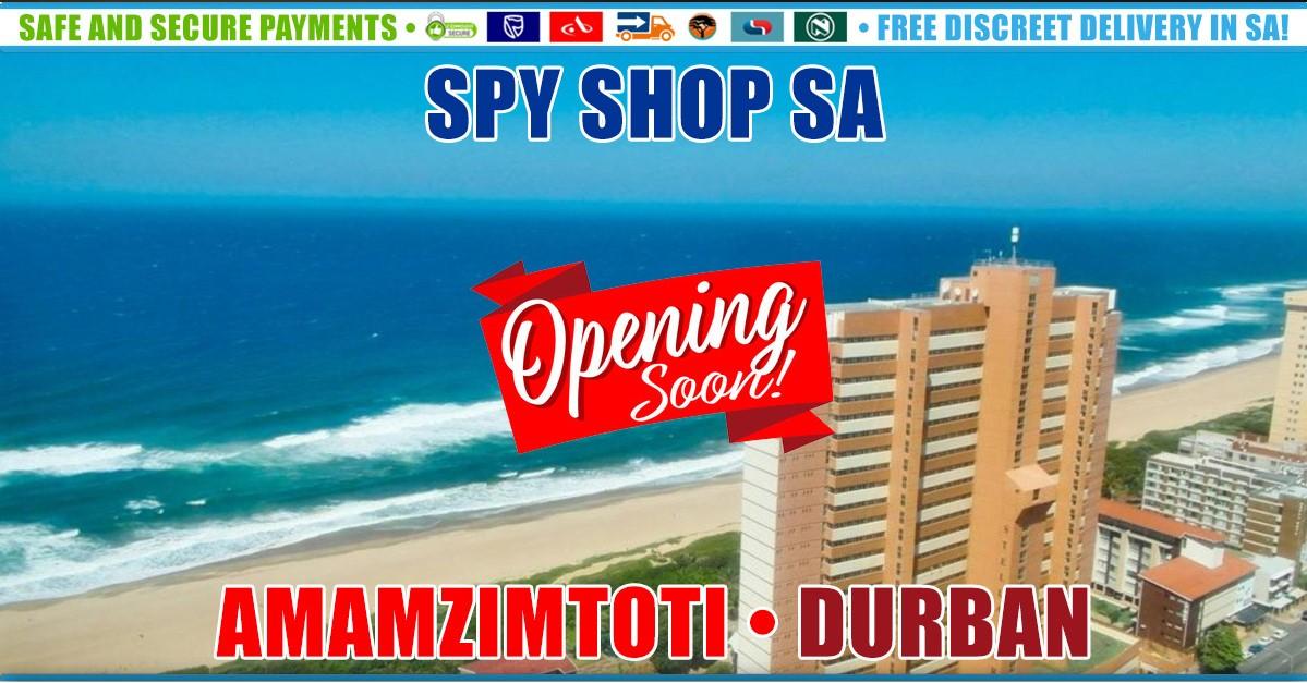 Spy Shop SA Opening Soon in Amanzimtoti