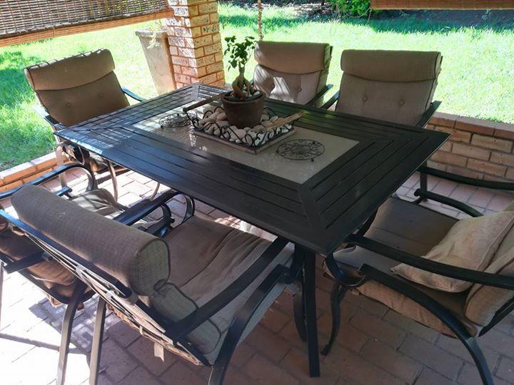Beautiful patio set