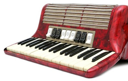 Horner Tango II M 96 bass accordion / trekklavier with case & bag
