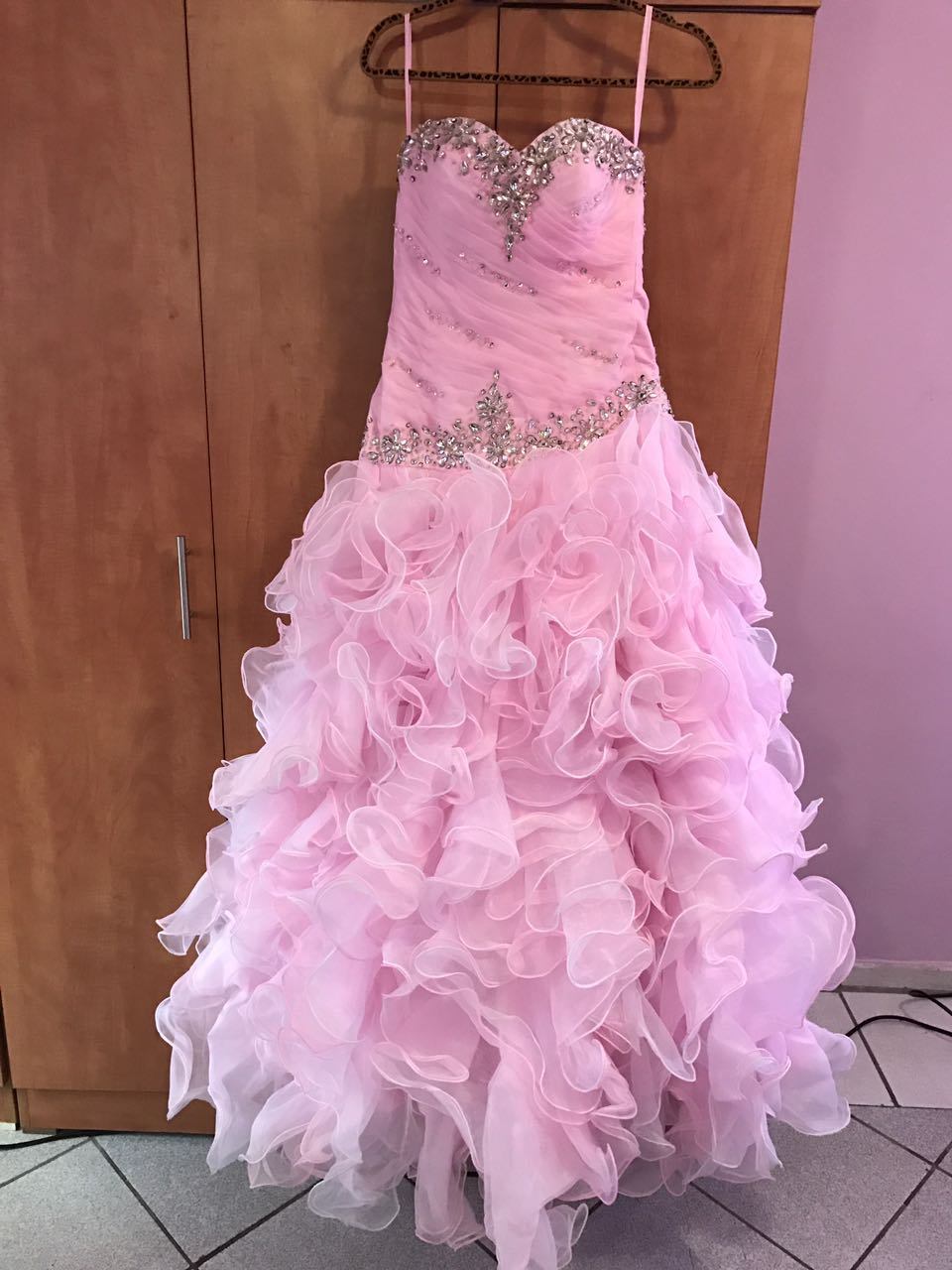 White & Pink Ball Gown | Junk Mail