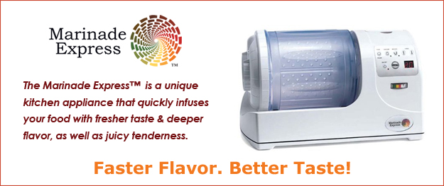 Marinade Express Professional Meat & Vegetable Vacuum Marinade System Fantastic easy to use machine