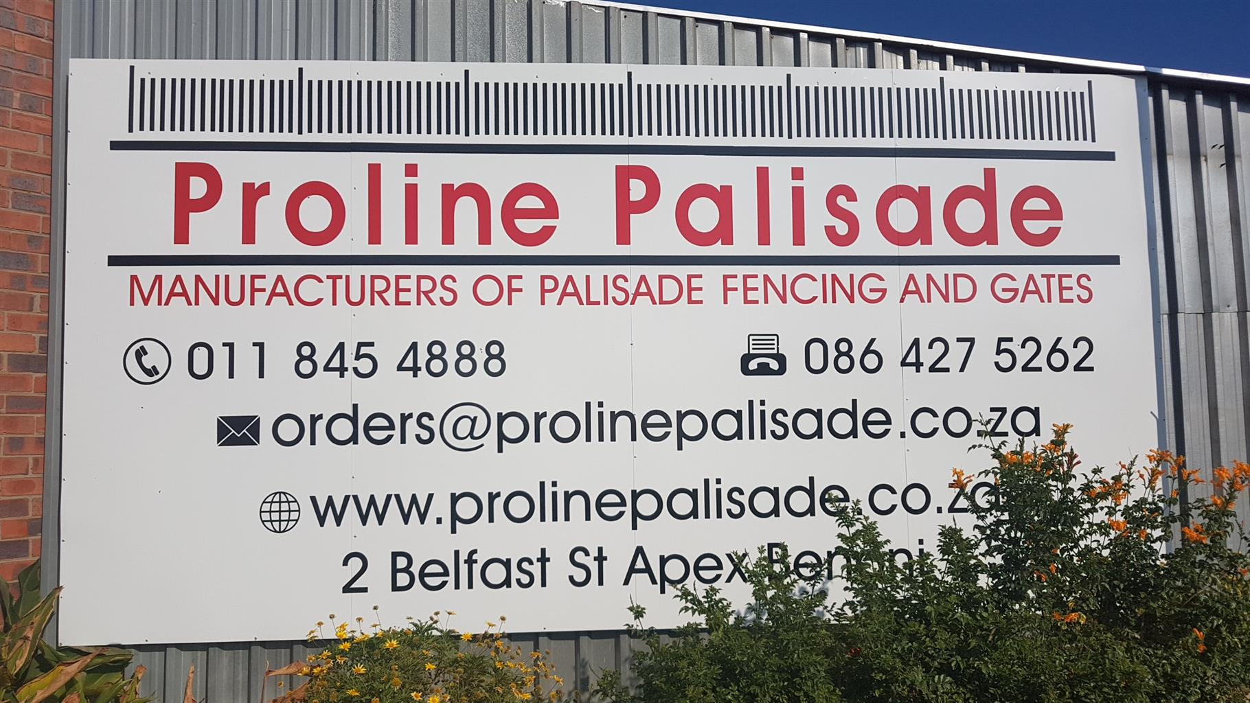 Palisade fencing Manufacture and supply