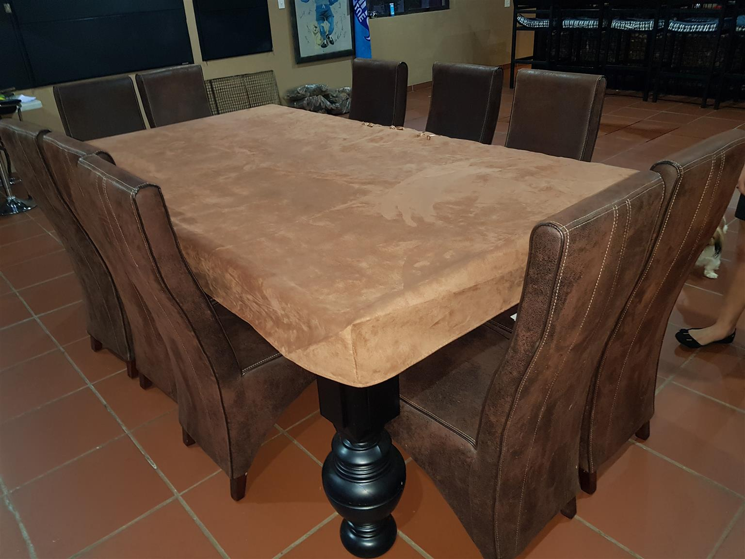 R 25 000 For Sale Dual Purpose 40mm Slate Top Pool Dining Table