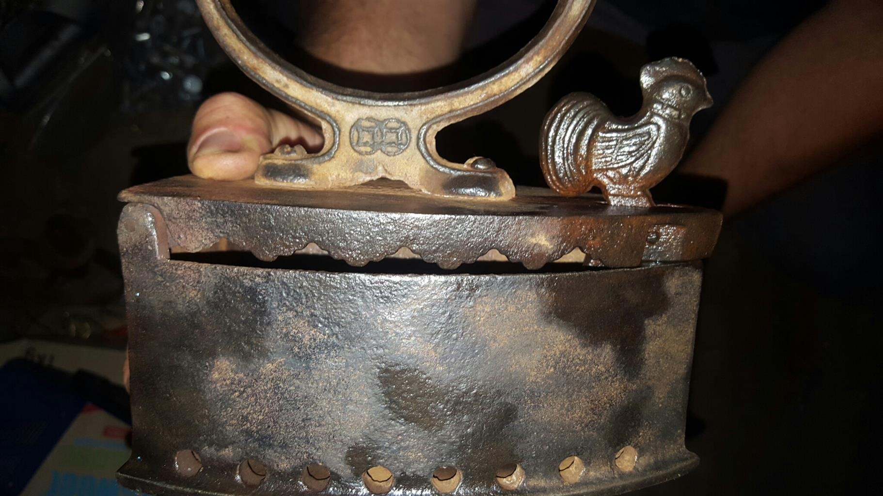 Two Rare cast irons