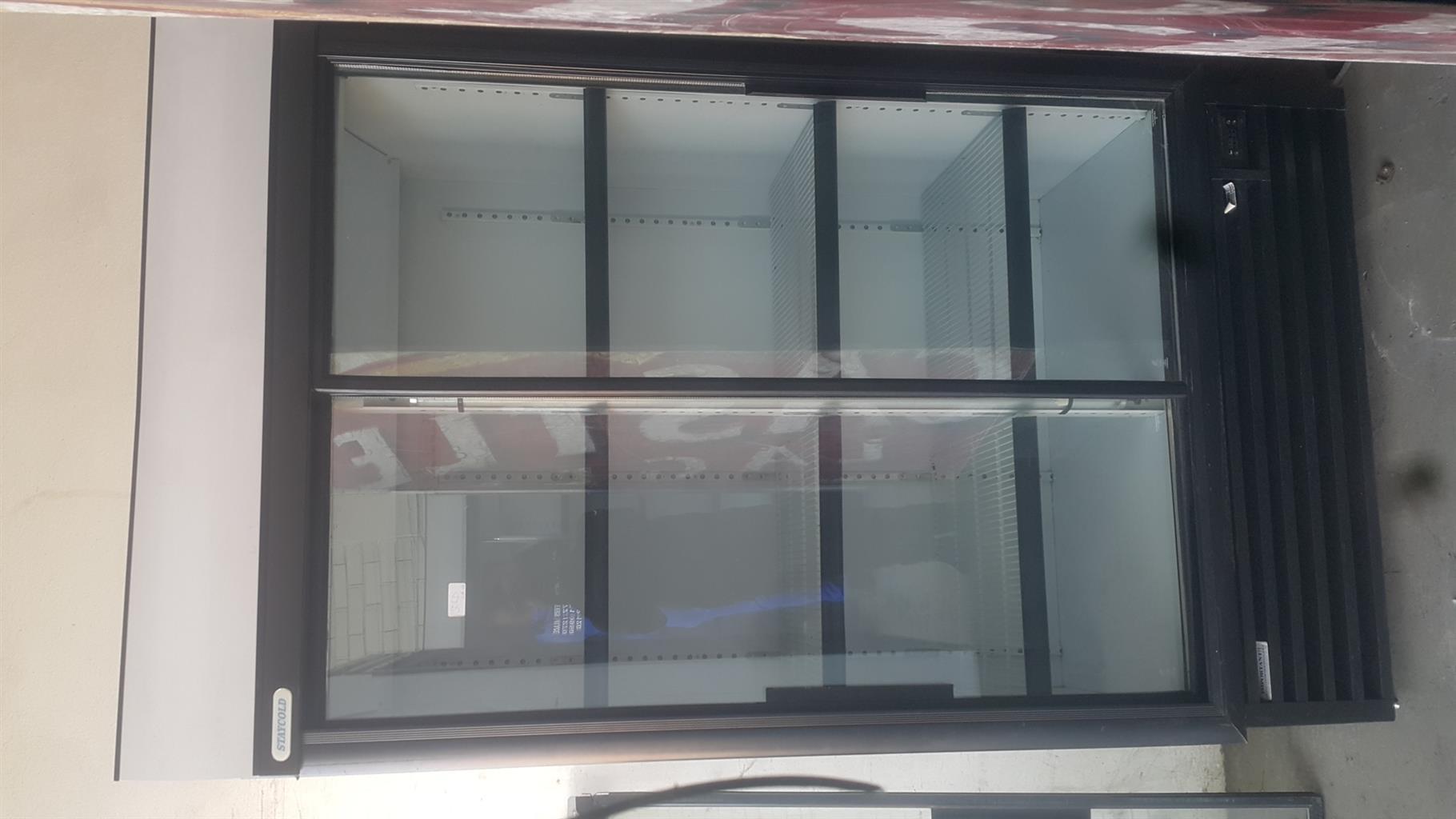 SD-1140 Display Upright Fridge + Two(2) months warranty