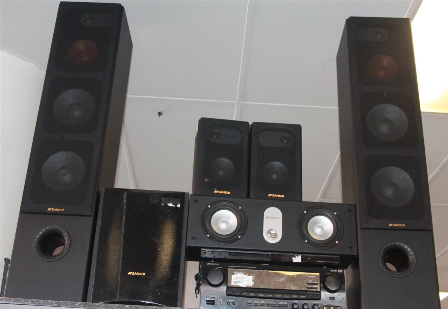 Surround sound system S027057a #Rosettenvillepawnshop