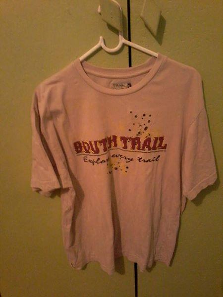 Pink south trail shirt