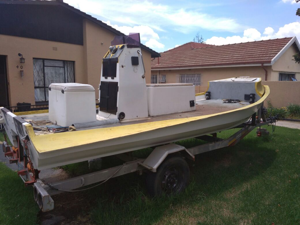 5.5m Rubber Duck with Trailer