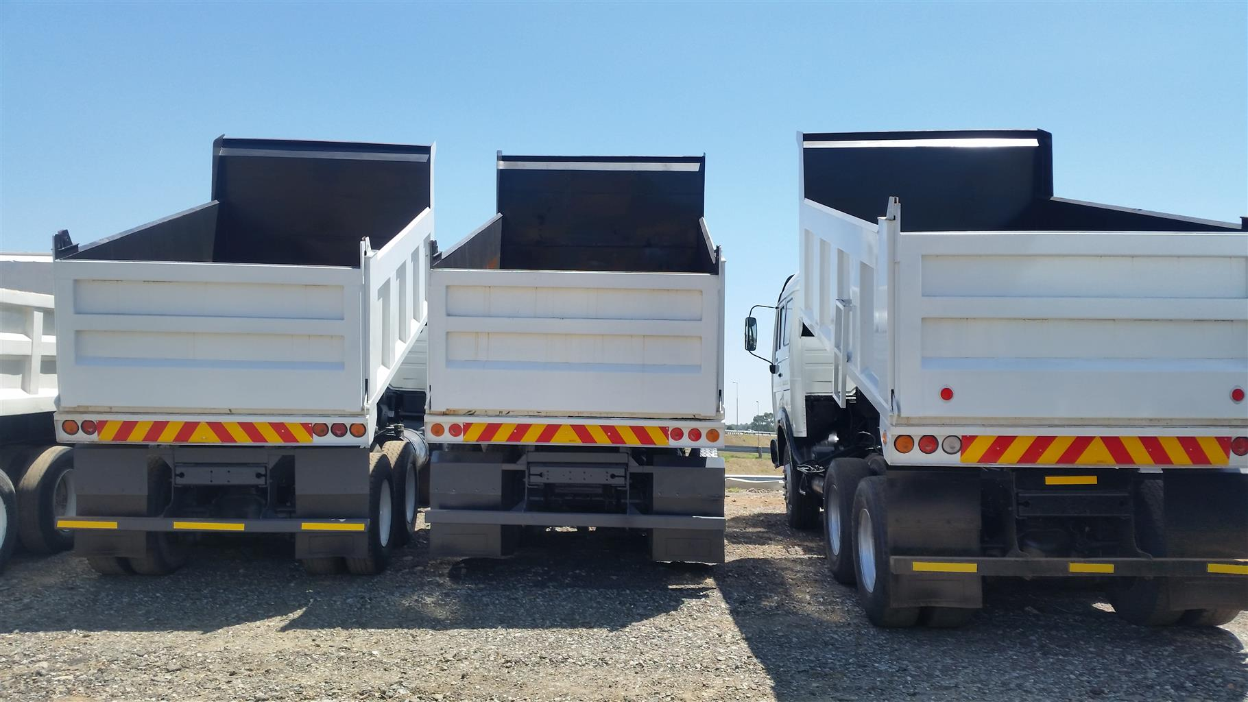 Get guaranteed returns when you buy a trucks and trailer from us as we also guarantee to give you work when you buy.
