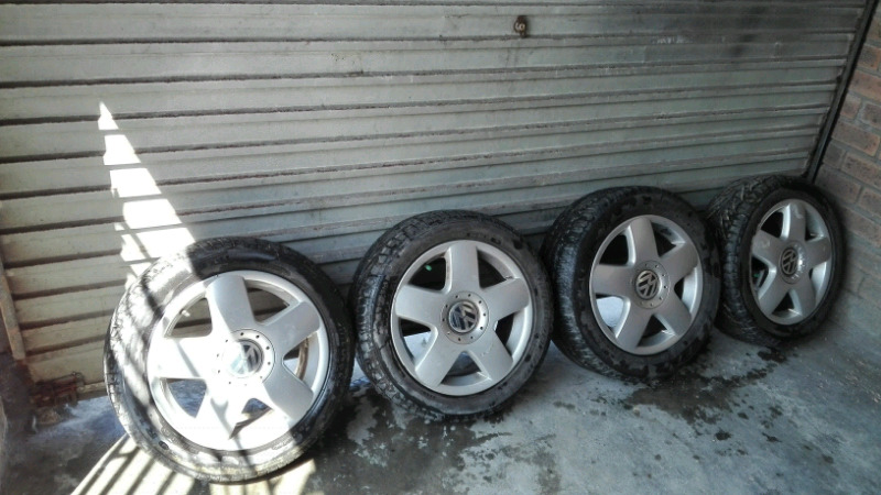 Vw Polo mags and tyres 15inch