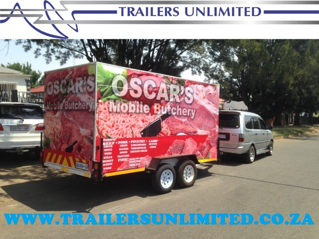 TRAILERS UNLIMITED. MOBILE BUTCHERY.