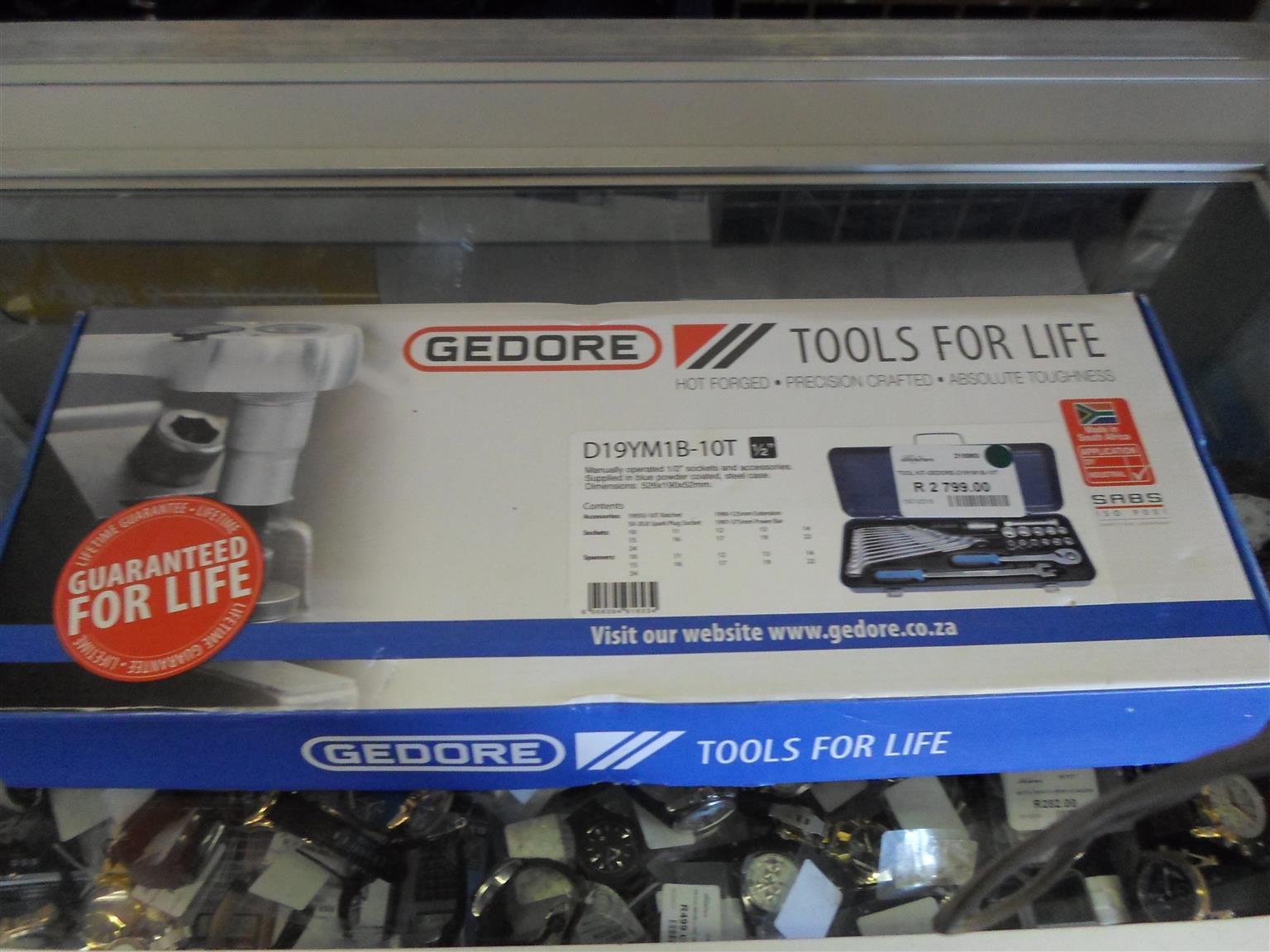 Brand new Gedore Tool Set