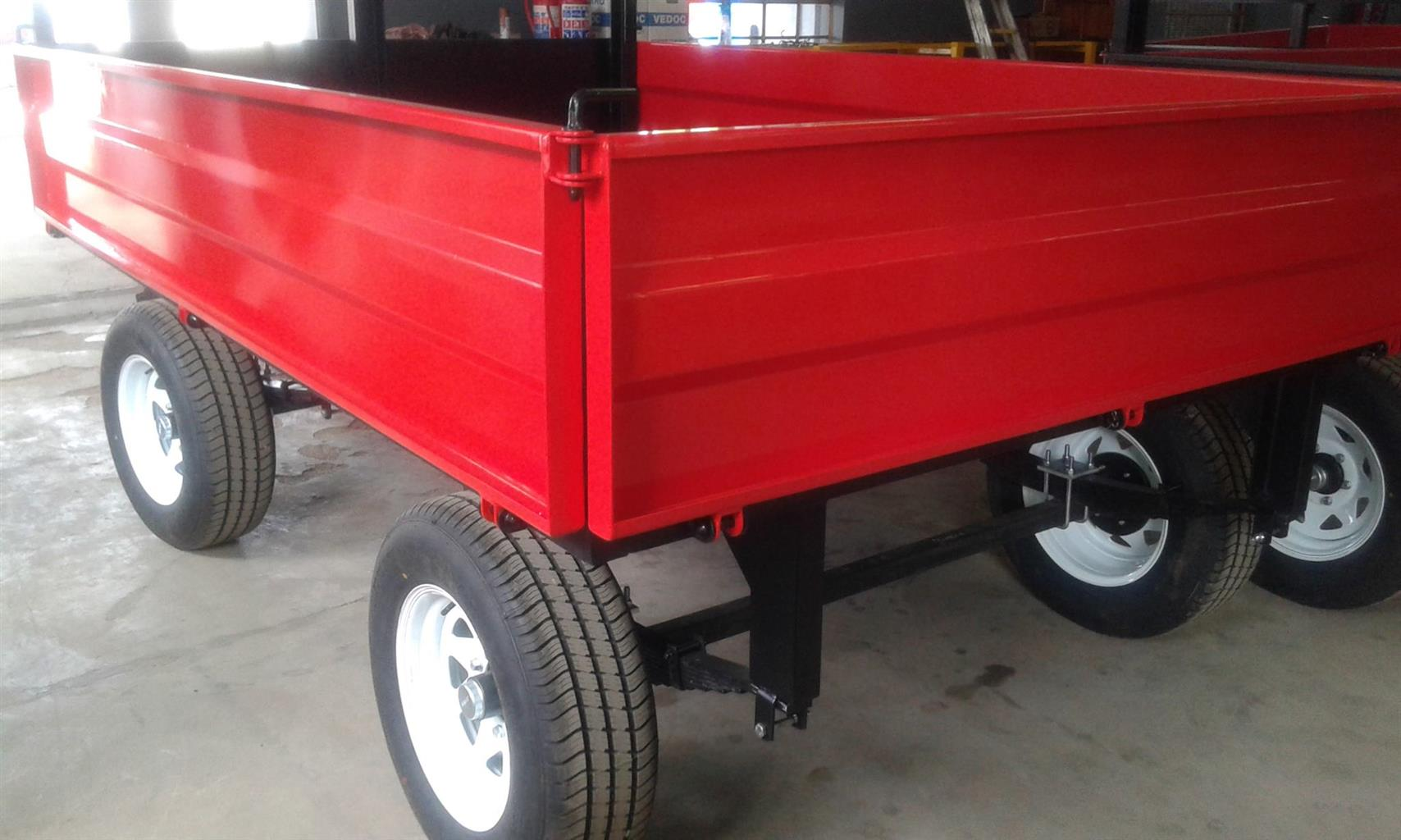 Tip trailers