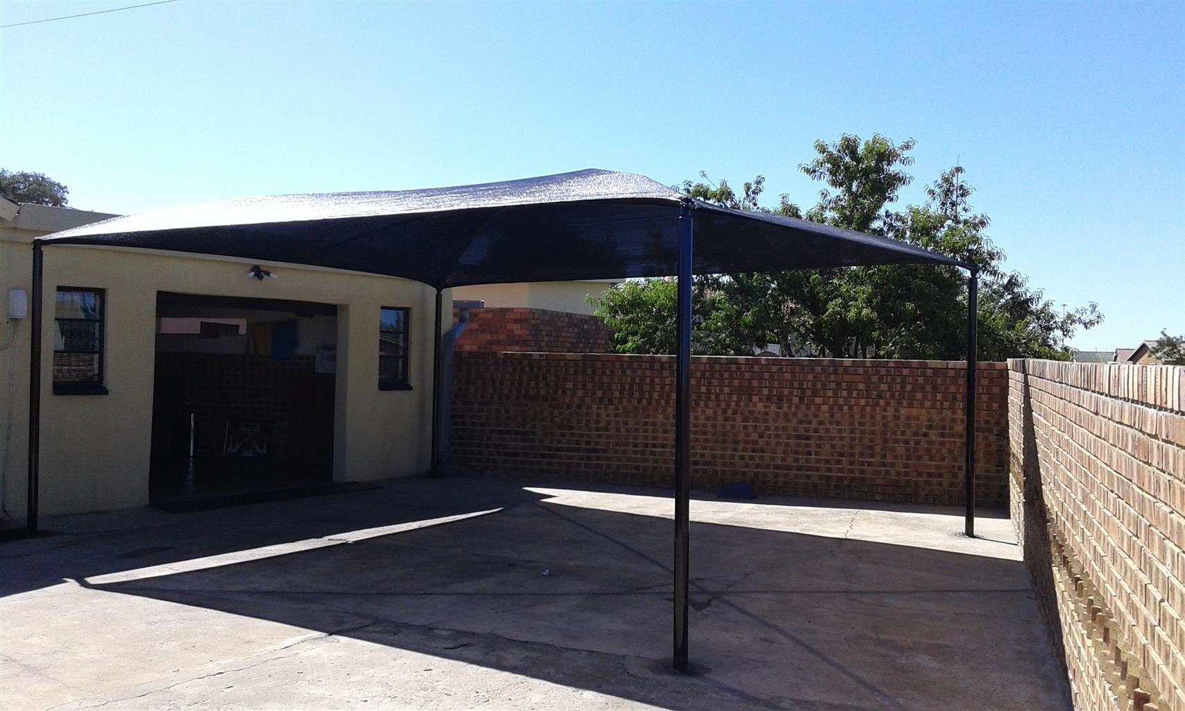 shade port installation