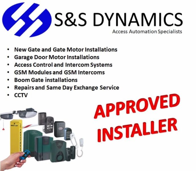 Gate Motor Repairs, Replacements and installation