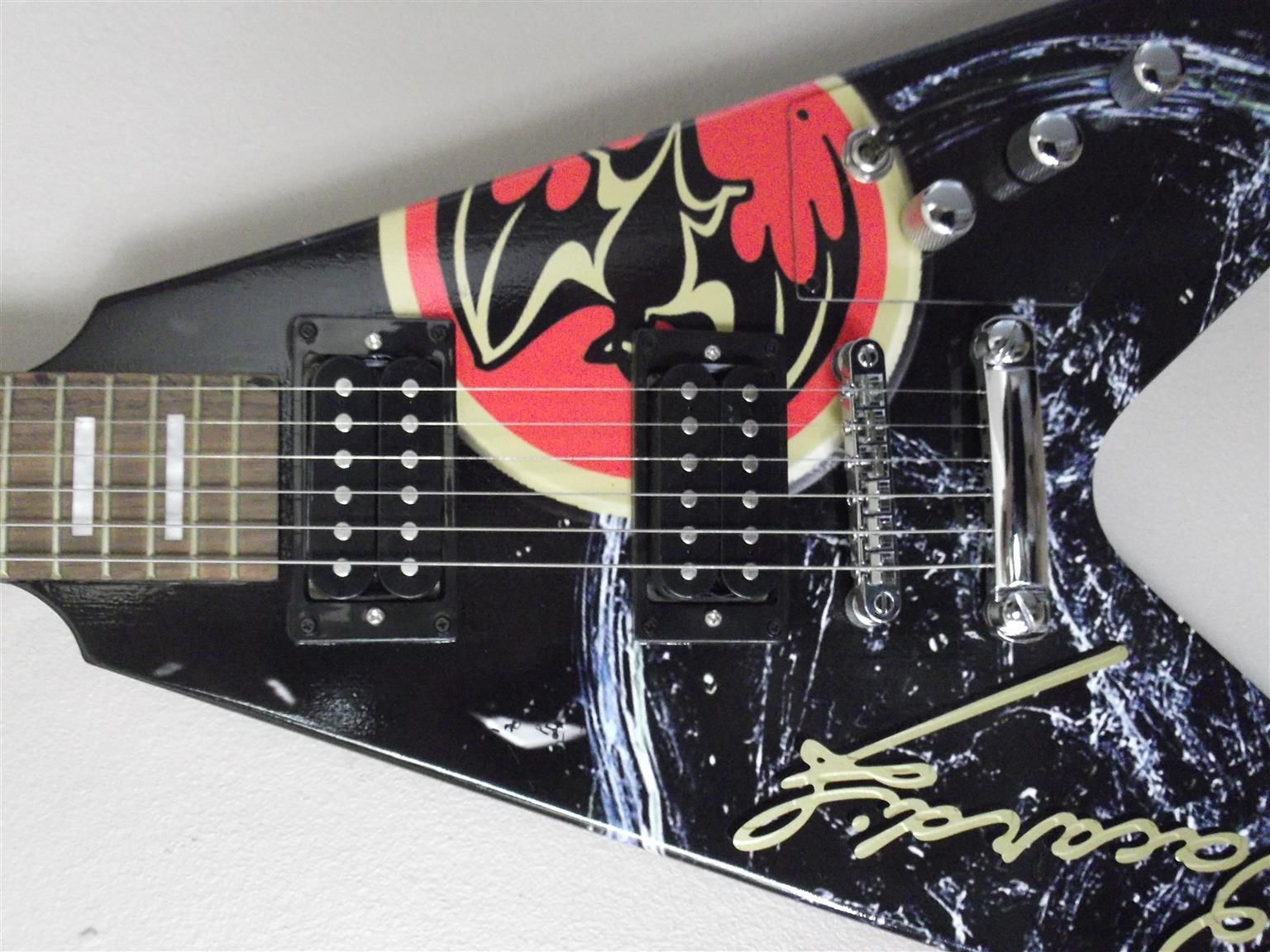 Flying V Bacardi Guitar for sale