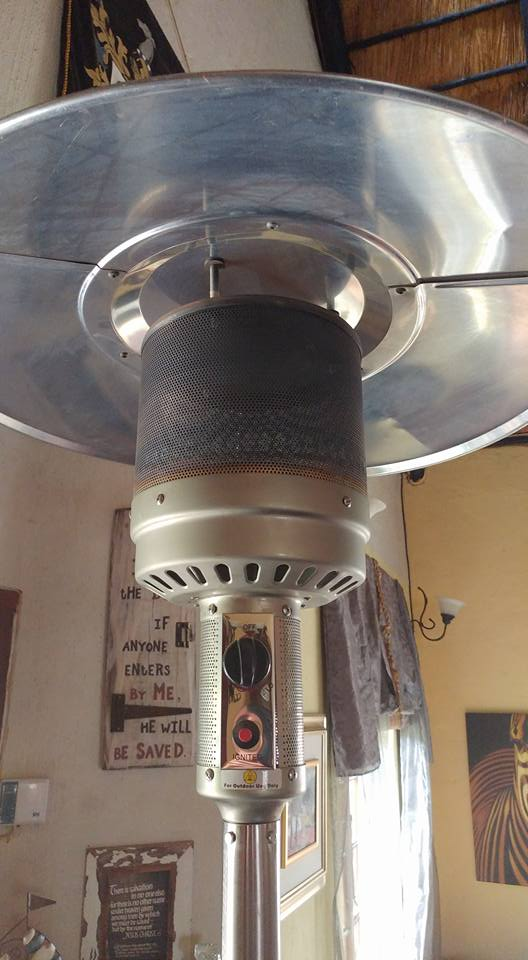 Patio standing heater