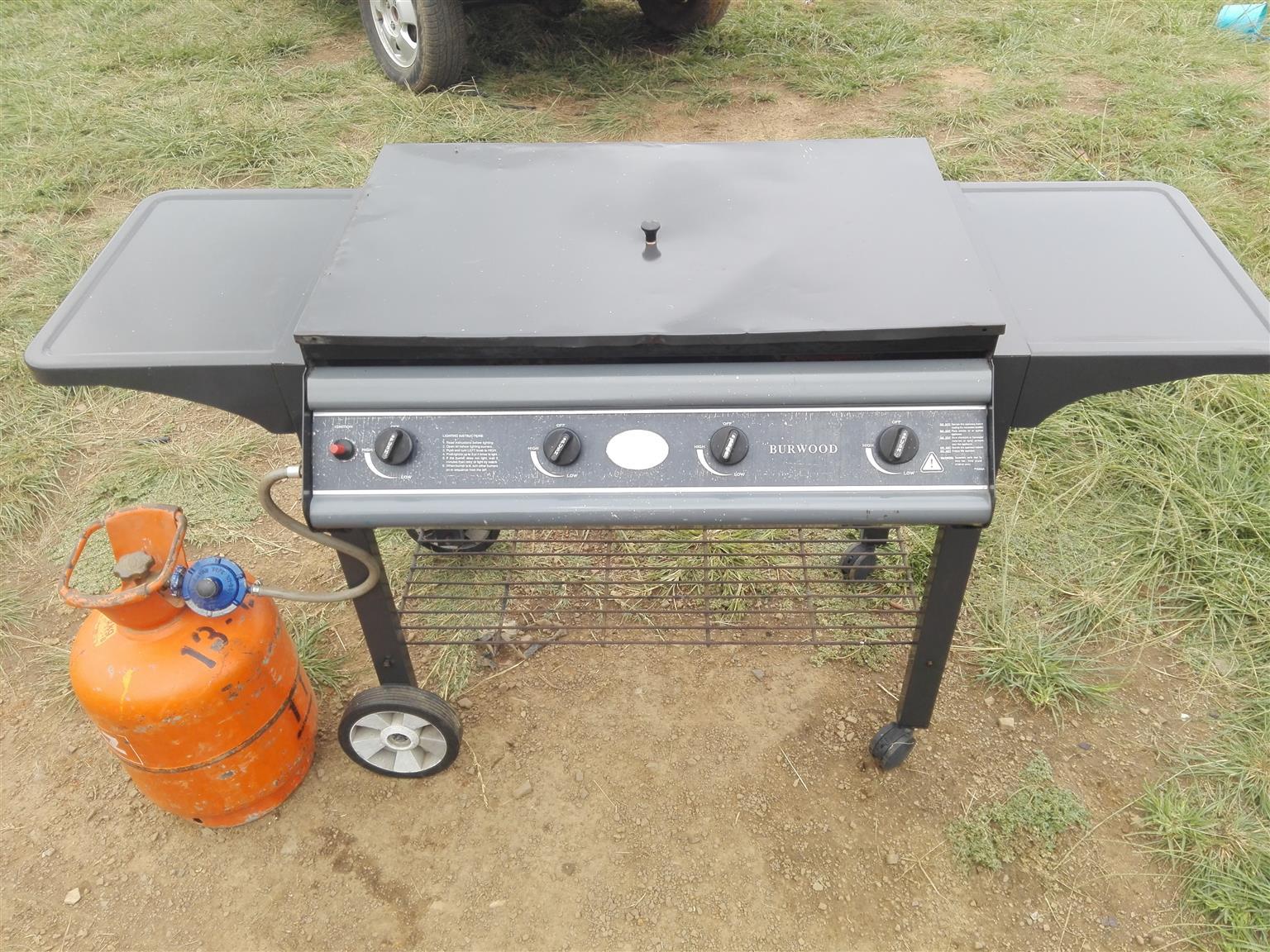 4burner gass stove