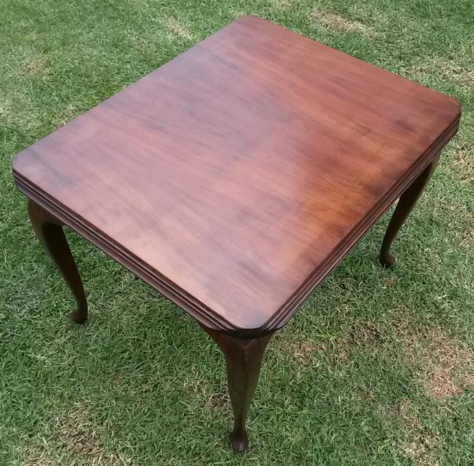 Vintage Stinkwood/veneer coffee table