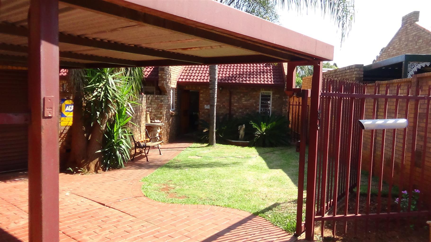 3 Bedroom in Doornport – R 1 030 000