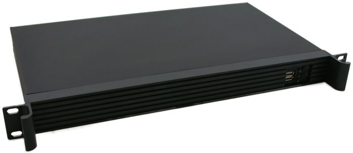 CSF125 - 1U Rack Mount Case With no PSU For ITX