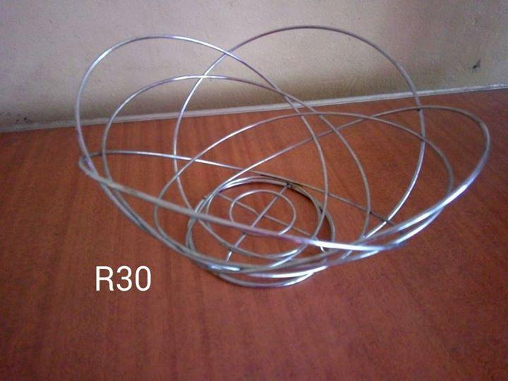Steel wire basket