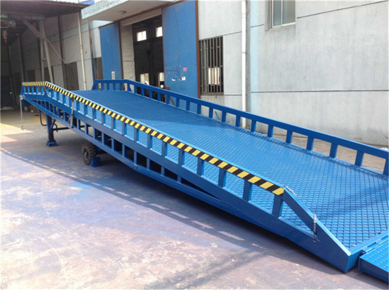 Hydraulic Forklift Loading Ramps