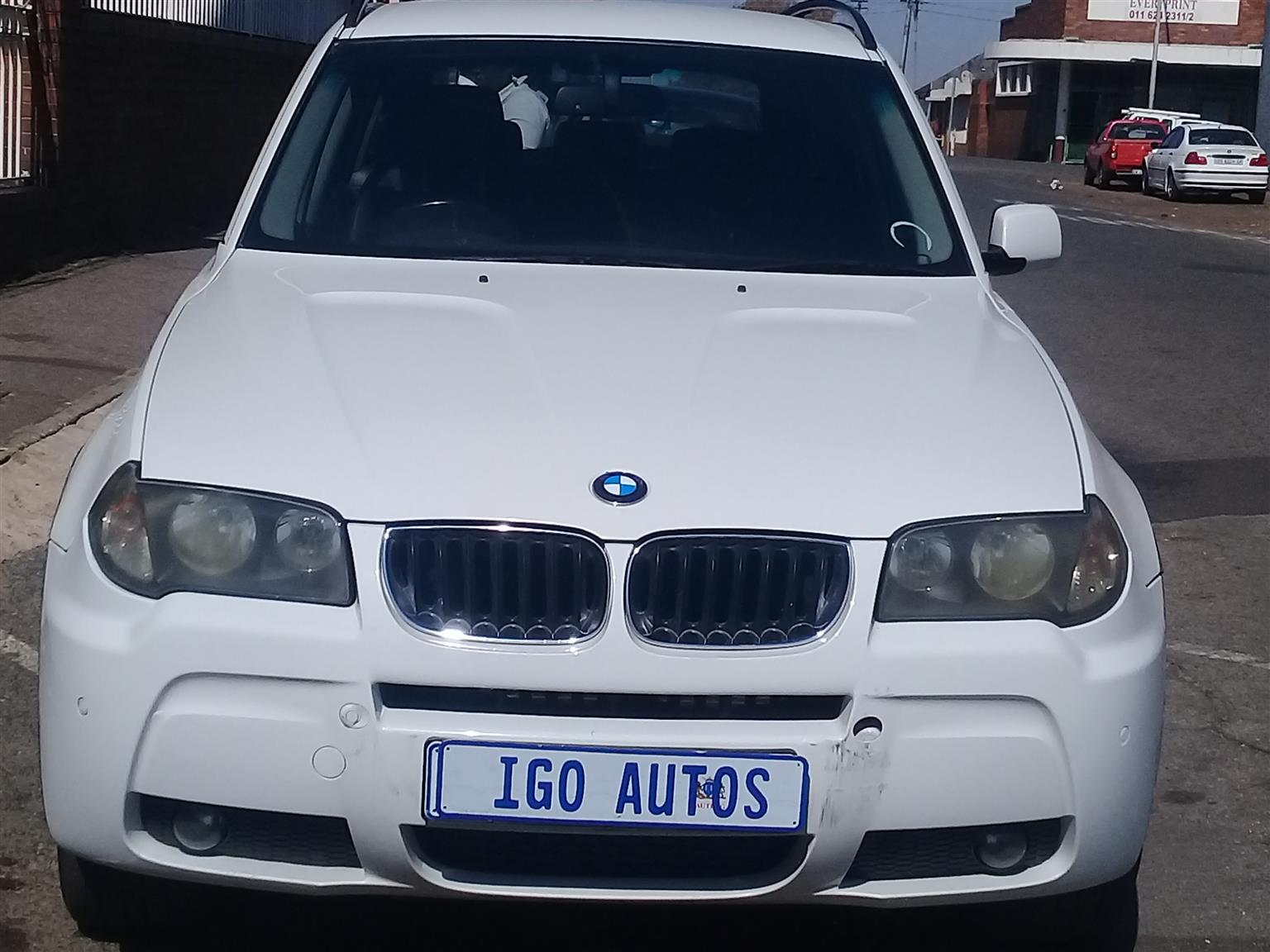 2006 BMW X3 xDrive20d Exclusive