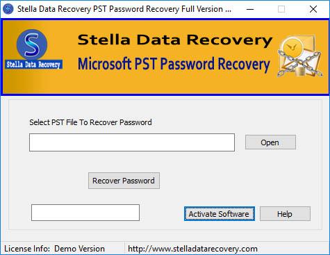 SDR PST Password Unlocker Software | Junk Mail
