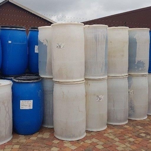 Caramel Plastic drums