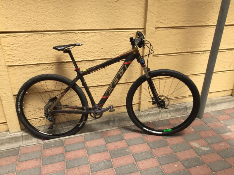 Full Carbon 29er with Shimano 1 x10speed