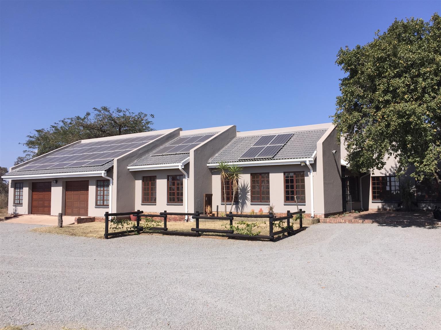 Well-developed prime 21 ha farm for sale near Pretoria
