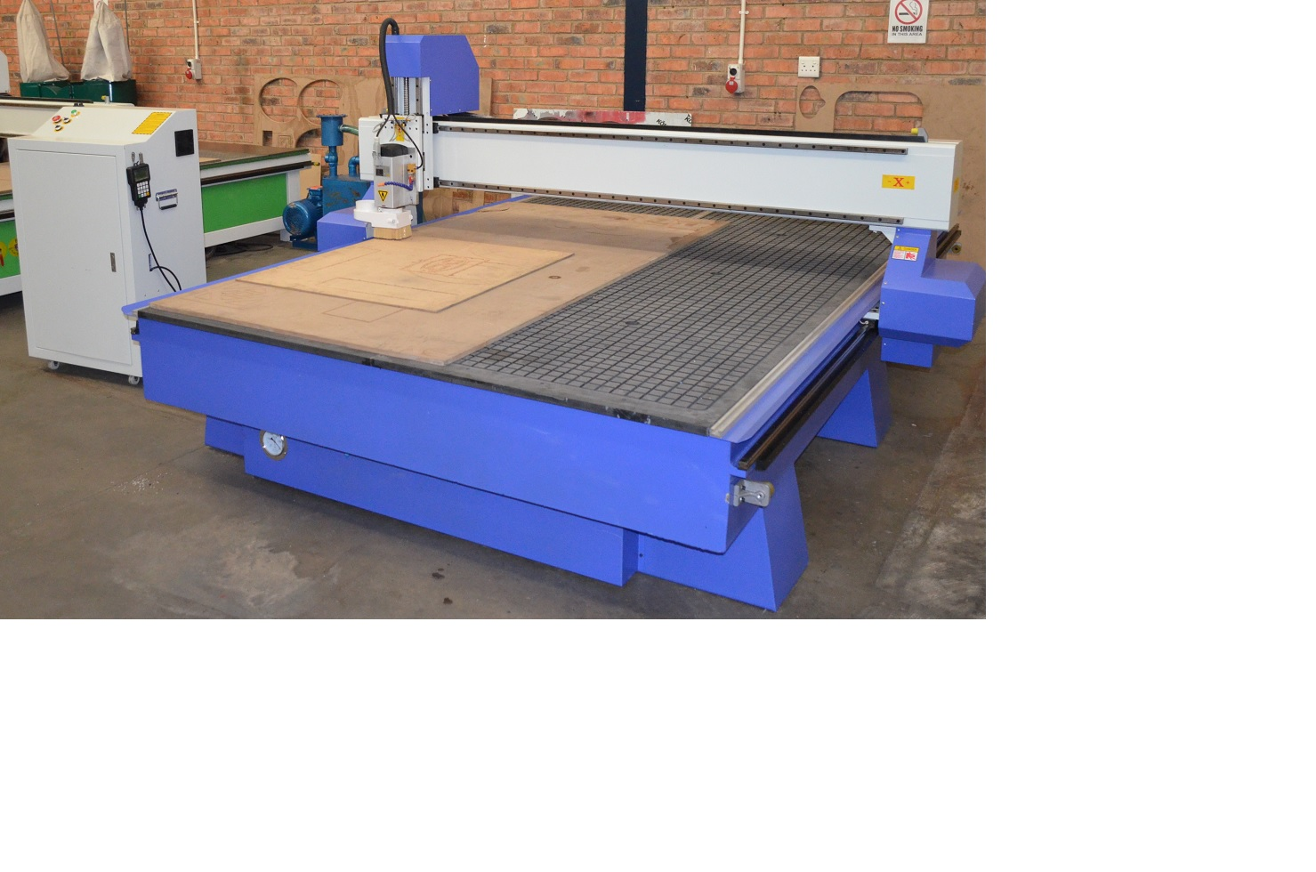 2030 CNC Router 6 kw spindle